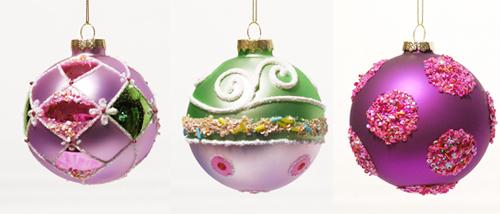 ausgefallene weihnachtskugeln