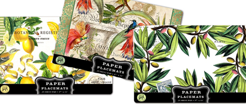 Michel Design Paper Placemats