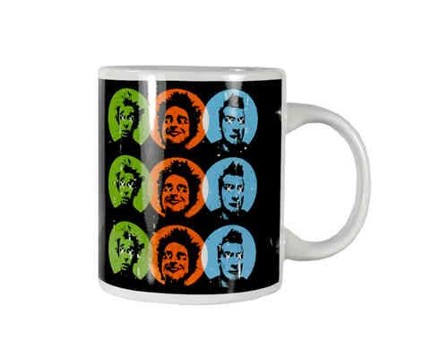 "Kaffeebecher - Tasse ""Green Day"""