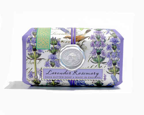 "Michel Design pflegende Badeseife ""Lavender Rosemary"""