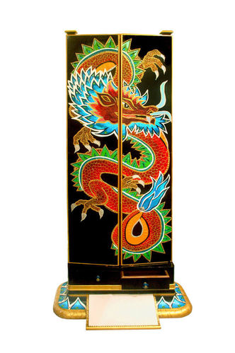 "LovinColors - Antiker Standspiegel ""Lucky Dragon"""