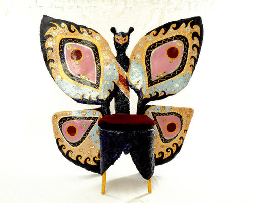 "Personality Chair Plastik ""Miss Butterfly"" G. Clark"