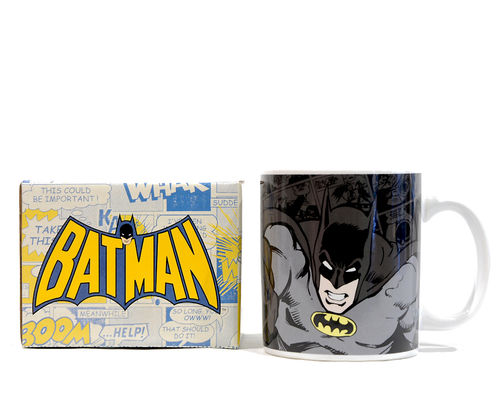 Kaffeebecher - Superhelden Tasse BATMAN Classic