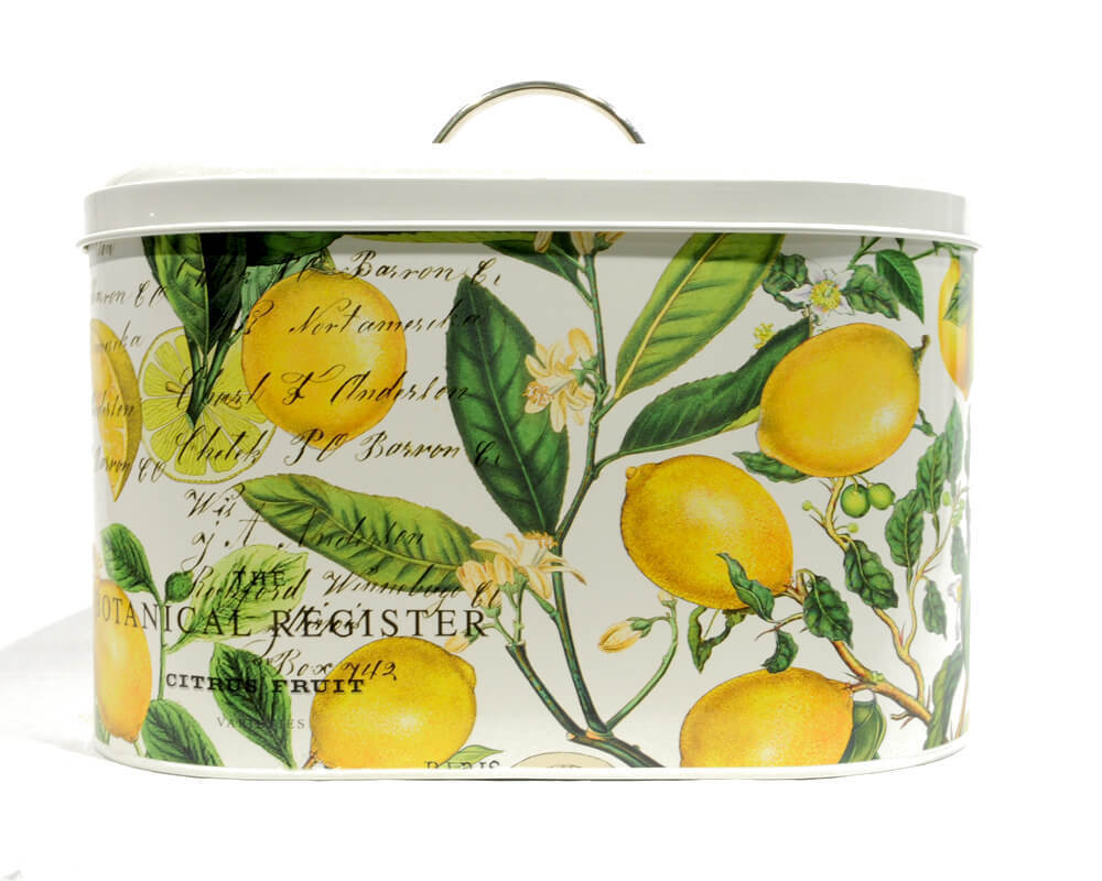 Michel Design Metall Brotkasten Lemon Basil
