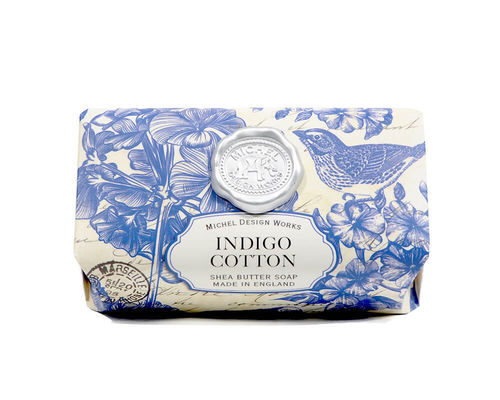 "Michel Design Badeseife ""Indigo Cotton"""