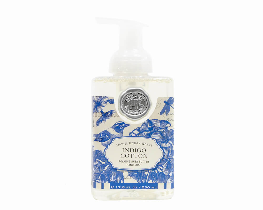 Foaming Hand Wash Michel Design Works Indigo Cotton R C
