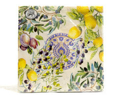 Michel Design Luncheon-Napkins Servietten Tuscan Grove
