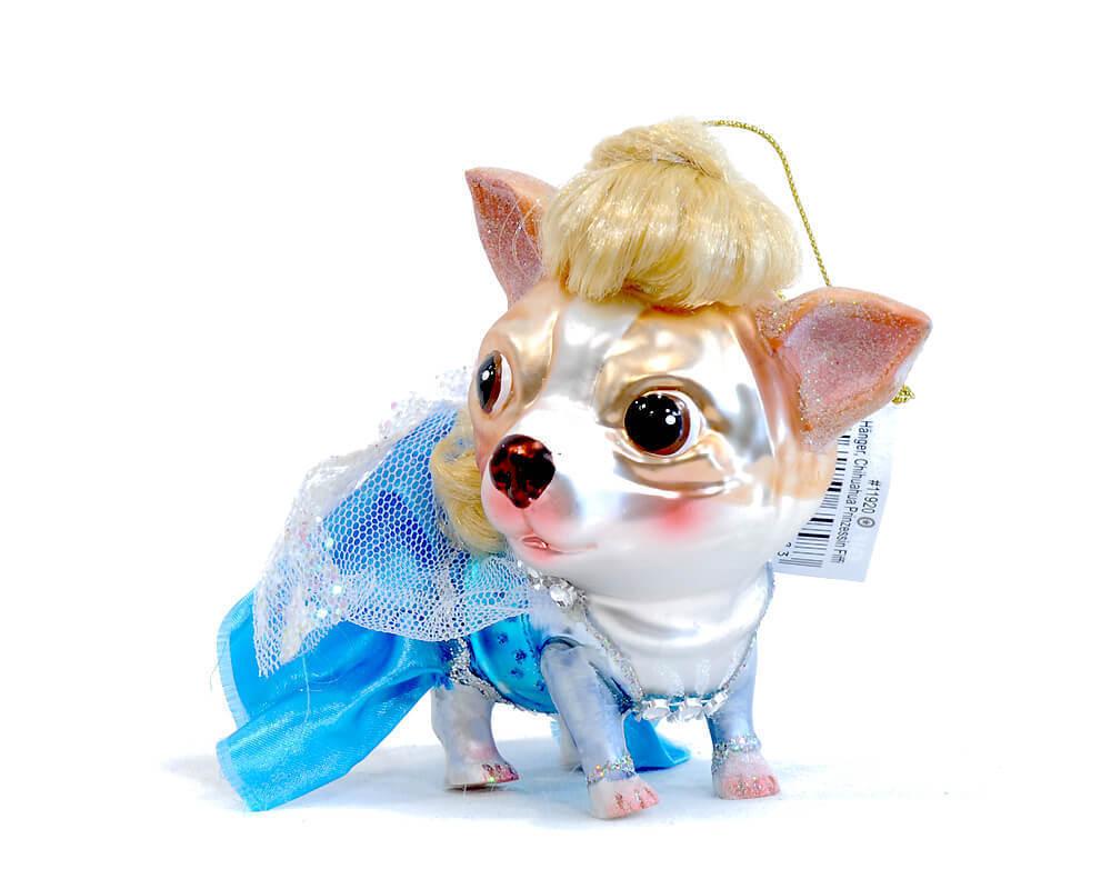 Gift Company Christbaumhanger Chihuahua Prinzessin Fiffi R C
