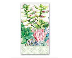 Michel Design Dinner-Napkins Servietten Pink Cactus