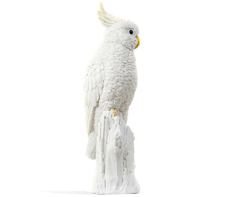 Decoration Sculpture Cocatoo white GIFT COMPANY