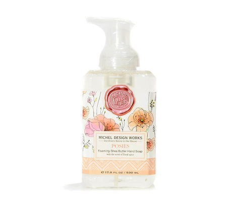 "Foaming hand wash soap Michel Design Works ""Posies"""