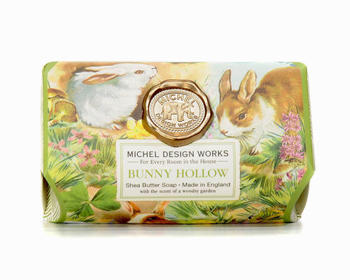 "Michel Design Works bath soap ""Bunny Hollow"""