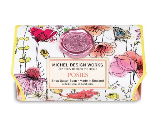 "Michel Design Works Seife Badeseife ""Posies"""