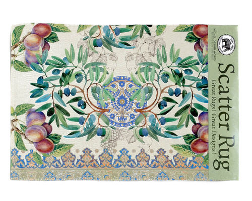 "Cotton Rug ""Tuscan Grove"" Michel Design Works"