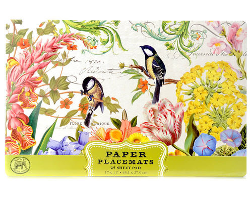"Michel Design Paper Placemats ""Summer Days"""