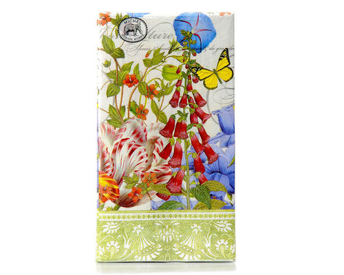 "Michel Design Hostess Napkins Dinner Napkins ""Summer Days"""