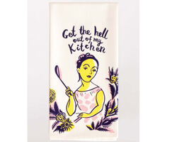 "Geschirrtuch Blue Q ""Get the Hell out of my Kitchen"