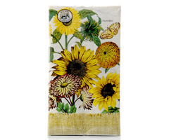 "Michel Design Dinner-Napkins Servietten ""Sunflower"""