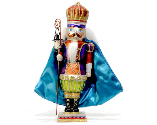 Nutcracker with Cape Red & Blue GIFT COMPANY