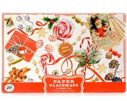"Michel Design Placemats Papier Platzdecken ""Peppermint"""