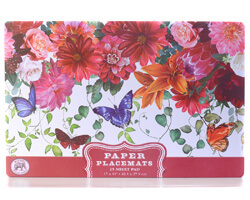 "Michel Design Placemats Platzdecken ""Sweet Floral Melody"""
