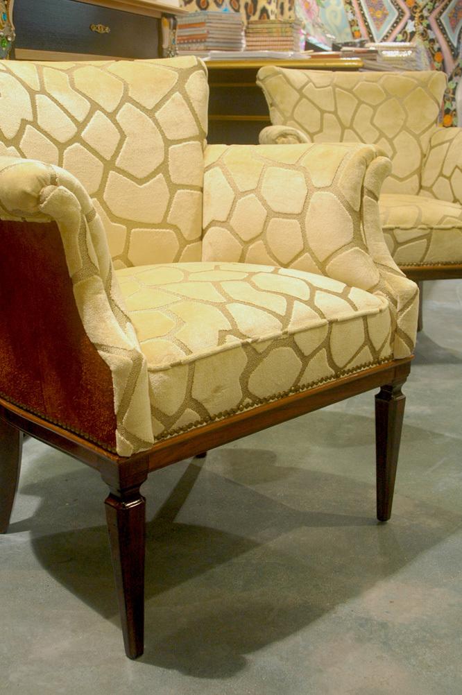 Antiker sessel elegant antiker sessel shabby with antiker for Sessel wildleder